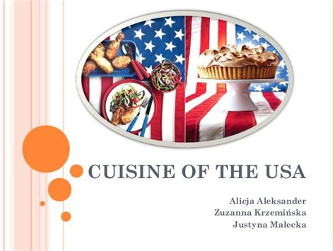 usa cuisine cuisine of the usa