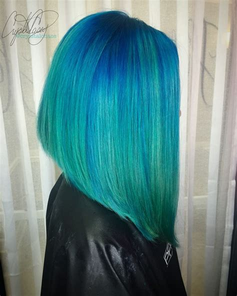 Best 25 Teal Hair Ideas On Pinterest Teal Hair Color