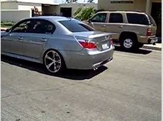 Awesome Sound of BMW M5 E60 With AC schnitzer Rims