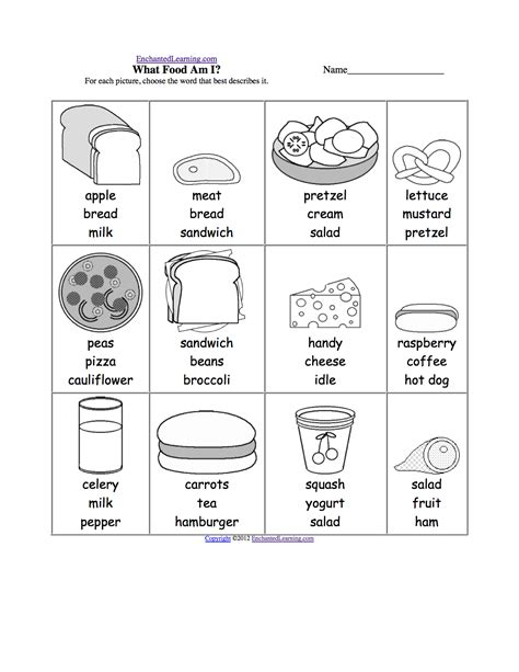 what does the word cuisine what am i worksheet printouts enchantedlearning com