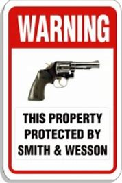 Image result for protected by smith and wesson