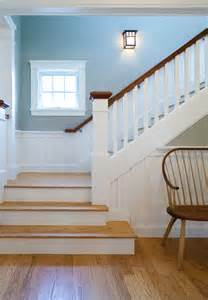 popular home interior paint colors arts crafts bungalow craftsman staircase boston