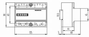 Direct Connection Four Wire Electricity Din Rail Three