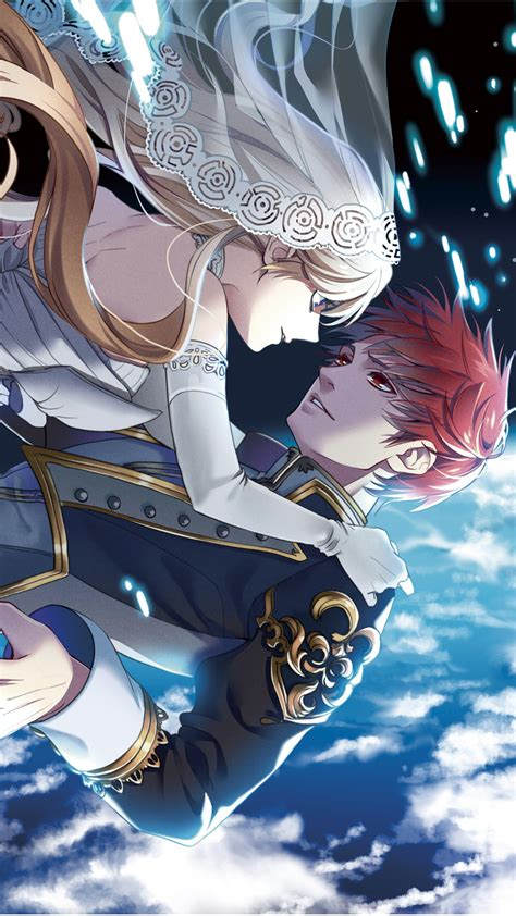 wallpaper anime anime couple art
