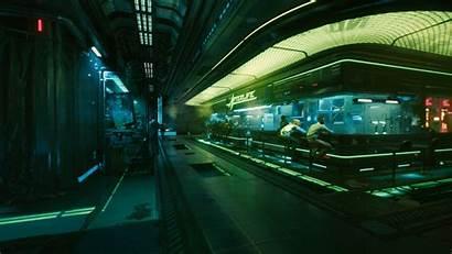 Cyberpunk Neon 2077 Lights Glow Bar Afterlife