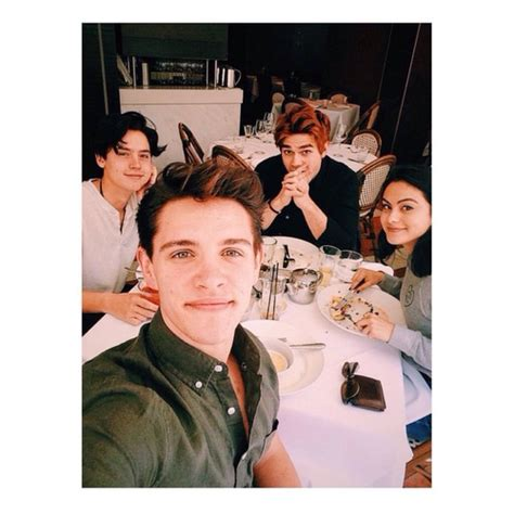 k j apa and camila mendes cole sprouse camila mendes and kj apa image on we heart it