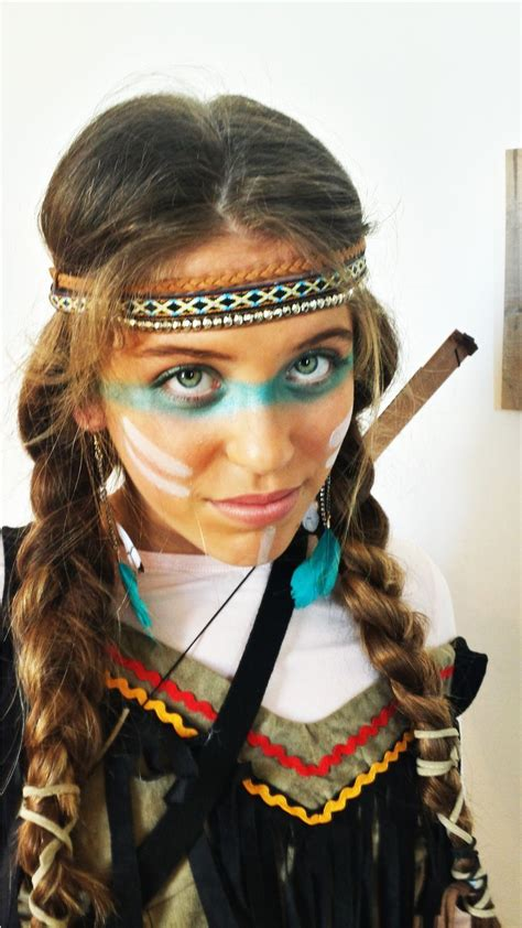 maquillage fille indienne costumes