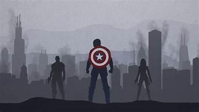 America Captain Desktop Wallpapers Pixelstalk