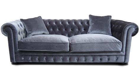 photos canapé chesterfield velours convertible