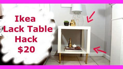 Ikea Tisch Lack Diy by Ikea Lack Table Hack New Diy Series