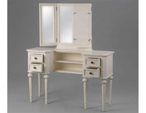 meuble bureau blanc meuble blanc pour la chambre ou coiffeuse blanche ou