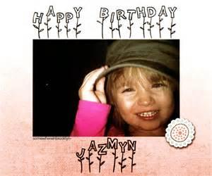 Happy Birthday Jazmyn Bieber