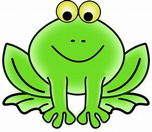 Clipart - Frog
