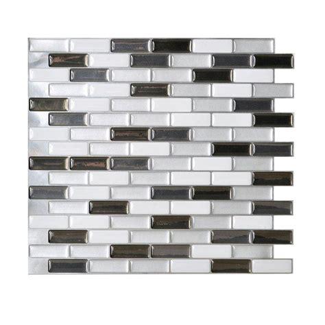 home depot peel and stick tile on wall tile wall tile