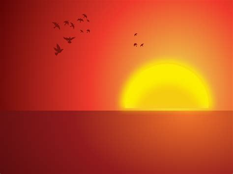 sunrise clipart powerpoint background pencil