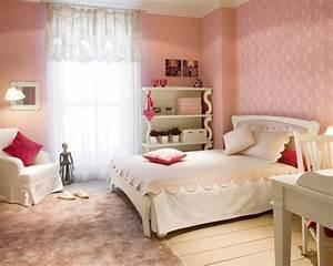 Chambre Ado Fille : deco chambre ado tapisserie ~ Teatrodelosmanantiales.com Idées de Décoration