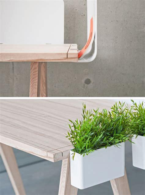 white wood desk accessories worknest multi practical desk celebrates straightforward