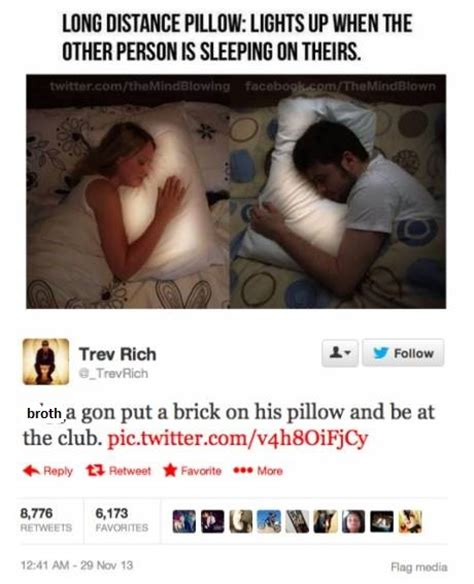 distance pillow light up for instagram photos comments as well as cellphone jokes