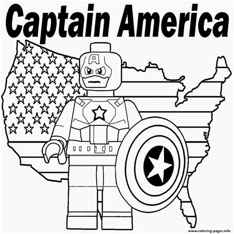 lego marvel coloring pages lego marvel captain america coloring pages printable