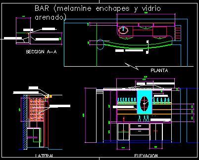 bar  bar  autocad cad   kb bibliocad