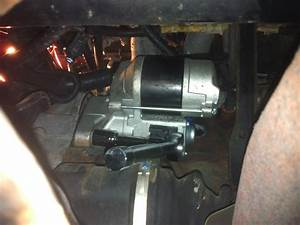Replacing Starter Motor In 1996 Toyota Corolla