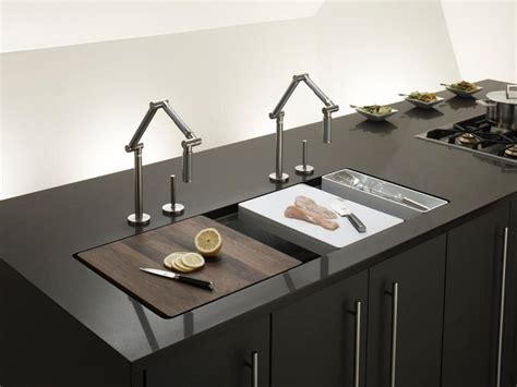 trough sinks  efficient bathroom  kitchen ideas