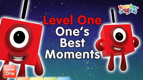 #Stayathome - Numberblocks Level One | All the Best One ...