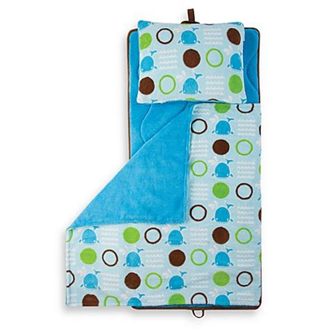 aquatopia nap mat aquatopia whale blue memory foam nap mat with pillow