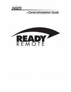 Directed Electronics Ready Remote 24923 Installation Guide