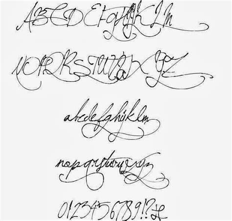 old handwriting font hand writing