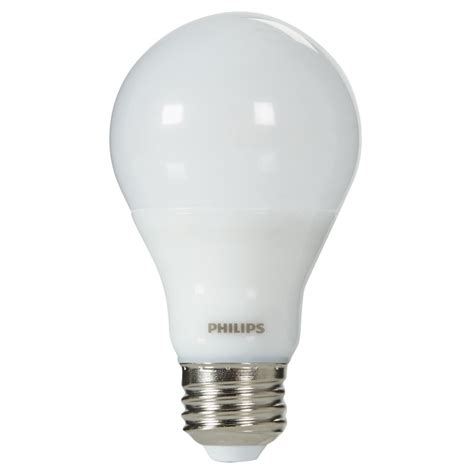 soft white dimmable a19 led light bulb