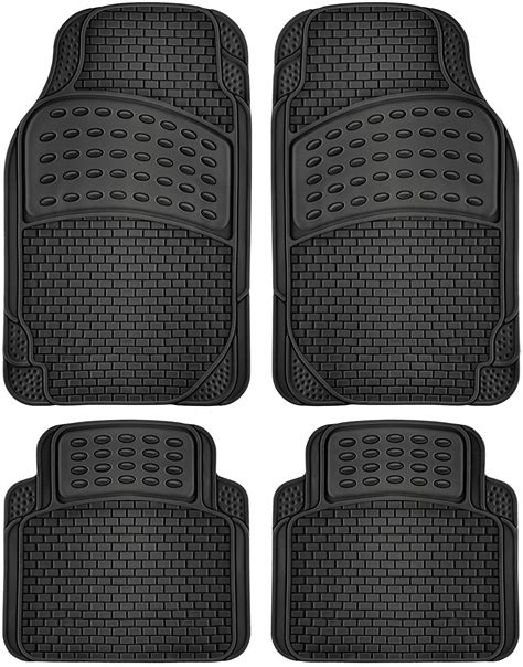 floor mats all weather car floor mats for all weather rubber 4pc set tactical fit