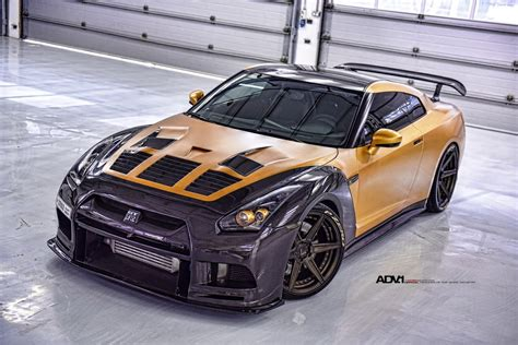nissan gold gold carbon ams nissan gt r with adv 1 wheels gtspirit