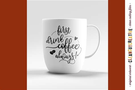 Original file at image/png format. Funny First Coffee SVG files sayings quote - SVG DXF EPS ...