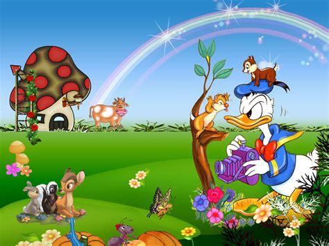 Cartoon Garden Wallpaper, Free Cartoon