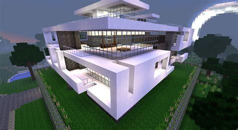 HD wallpapers tuto minecraft maison de luxe moderne construction