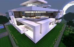 Hd Wallpapers Maison Moderne Minecraft Ps3 Www Designdesktop09 Cf