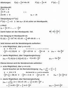 Wendepunkt Berechnen Aufgaben : normale lotgerade orthogonal senkrecht tangenten reziprok kehrwert mathe ~ Themetempest.com Abrechnung