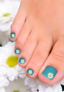 Gallery for gt daisy toe nail design