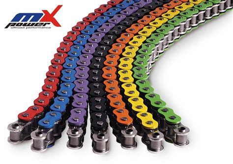 520 Srx Colored Enuma Motorcycle Chain Quad-x-ring