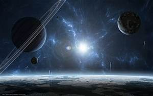 Download wallpaper star system, gas giant, Planet, star ...