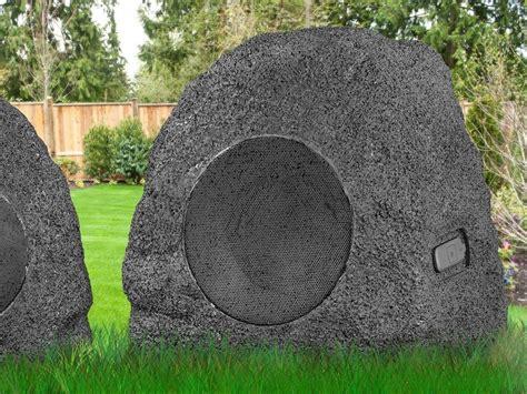 Premium 5watt Bluetooth Outdoor Rock Speakers » Petagadget