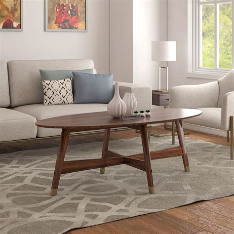 Our mission is to serve others, make a difference, and have fun. Birmingham Solid Wood Coffee Table - Natural Finish - Decornation