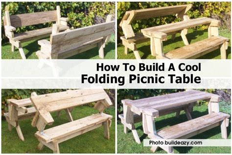 free folding picnic table bench plans pdf folding picnic table bench diy quick woodworking projects