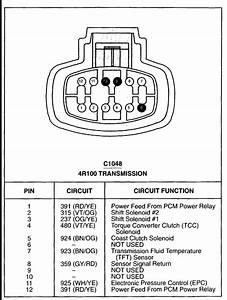 Need A Diagram Or Sketch Of An Automatic Transmission Wiring Harness For A 2001 Ford F250 7 3l