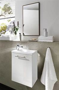 Aufsatzwaschbecken Gäste Wc Klein : handwaschplatz aktzent g ste wc waschplatz g stebad waschbecken waschtisch badschrank wei bad ~ Indierocktalk.com Haus und Dekorationen