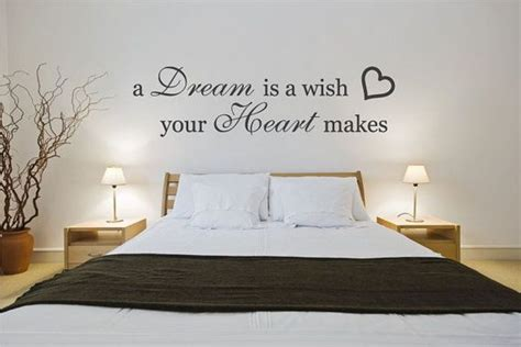 Bedroom Quotes by Decorative Wall Decals Quotes For Modern Bedroom Design