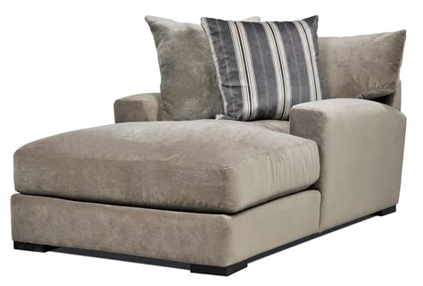 Double Wide Chaise Lounge Indoor With 2 Cushions Chaise