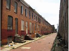 A Photo Journey Through The Baltimore Ghetto Zero Hedge