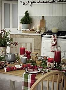 Küche Gemütlich Dekorieren : weihnachtsdeko landhausstil macht weihnachten unglaublich gem tlich und romantisch ~ Indierocktalk.com Haus und Dekorationen